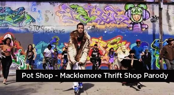 Pot Shop – Thrift Shop Parody (music video)