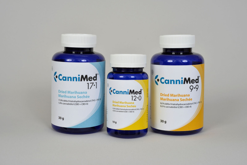 """""""CanniMed Product Photo (CNW Group/Prairie Plant Systems Inc.)"""""""