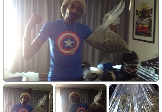 Snoop Dogg wins bag of weed in boxing bet
