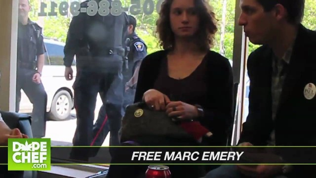 Free Marc Emery World-Wide Rally Promo