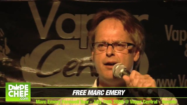 Marc Emery smoked pot with Justin Trudeau