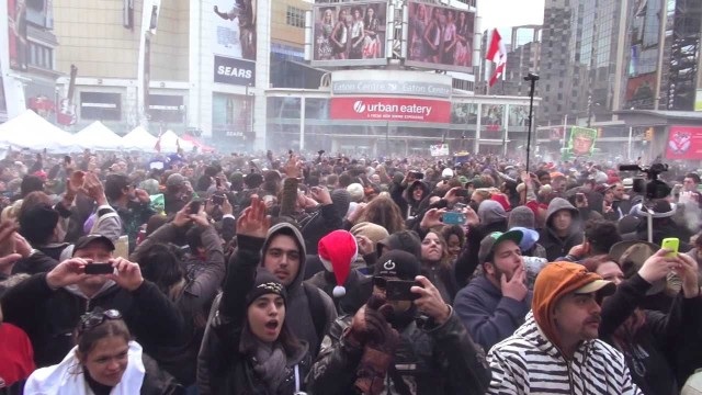 420 Countdown in Toronto 2013