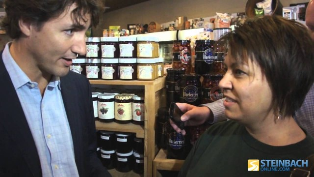 Justin Trudeau discusses pot with a concerned mother