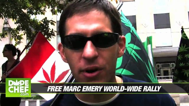 Free Marc Emery Worldwide Rally high-lights