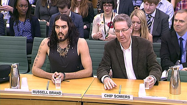 Russell Brand at Committee on Addiction