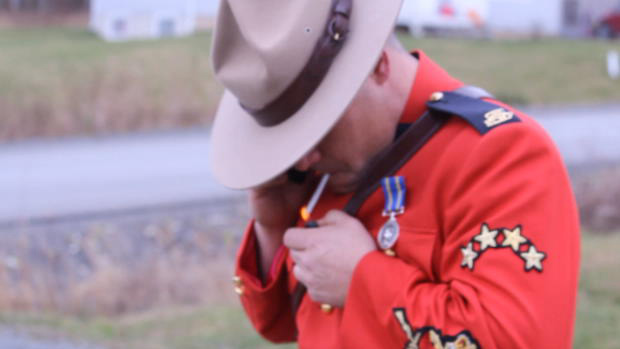 RCMP Officer Smokes Weed