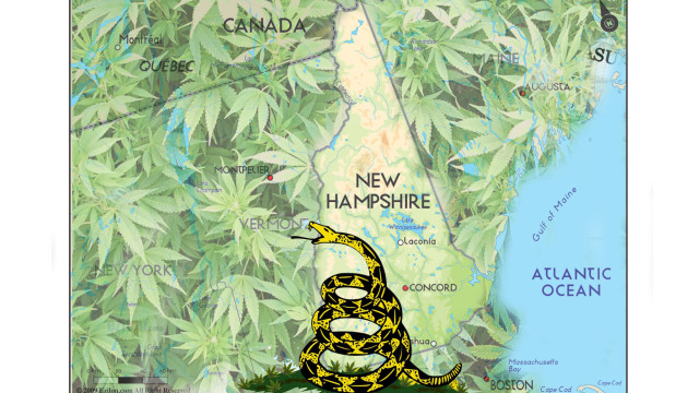 New Hampshire House Passes Marijuana Legalization Bill