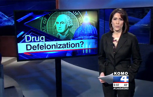 Washington State Mulls Drug Defelonization