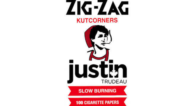 Justin Trudeau Zig-Zag Rolling Papers