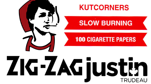 Justin Trudeau Zig-Zag Rollin' Papers
