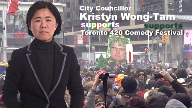 City Councillor supports Toronto 420