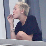 Miley Cyrus Getting High In Miami