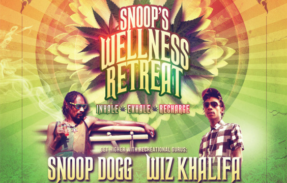 Snoop Dogg's Wellness Retreat with Wiz Khalifa