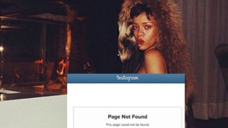 Rihanna suspended by Instagram?