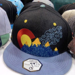 Grassroots California mountains hat