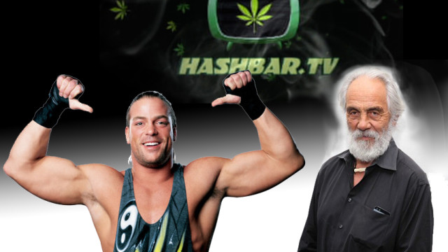 Tommy Chong & RVD on HashbarTV