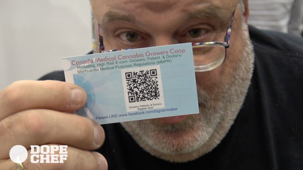 Shawn of Canada Medical Cannabis Growers CoOp