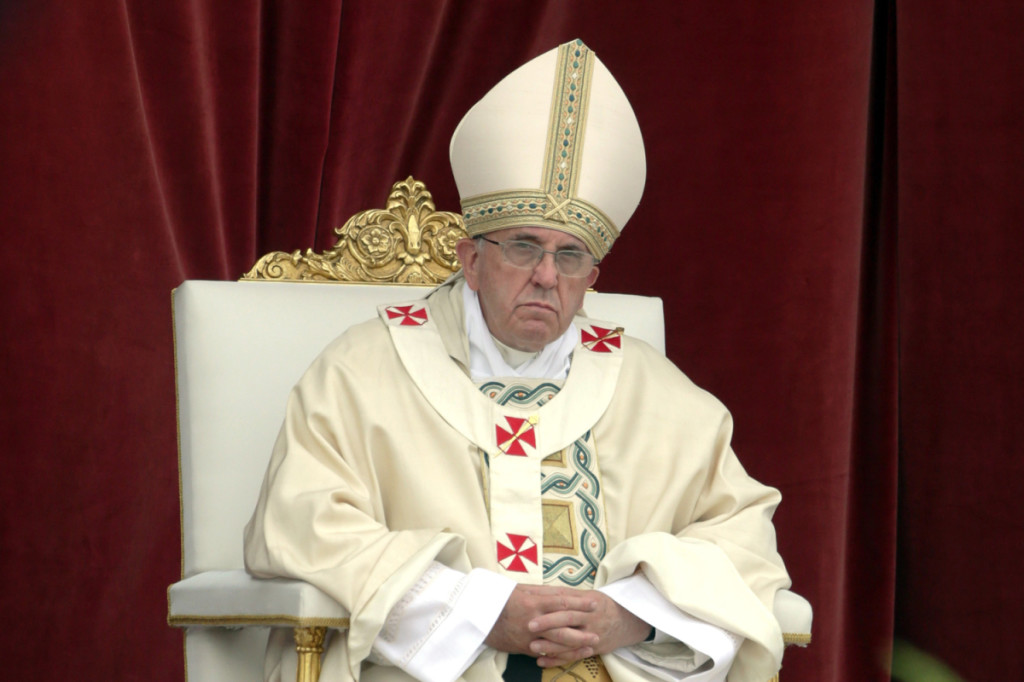 Pope Francis Leads The Solemnity Of The Most Holy Body And Blood Of Christ
