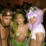 Lady-Gaga-SEXY-weed-fashion-show-models