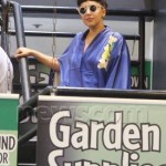 Lady Gaga goes to THC Gardening Centre