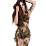 naked-lady-Gaga-covered-in-dope-green-herb