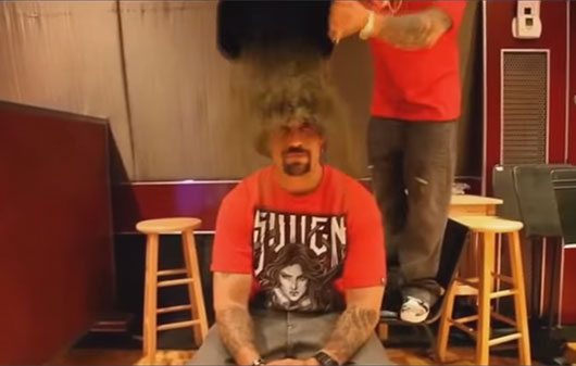 B-Real wins Ice Bucket Challenge