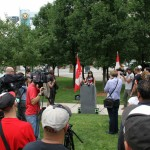 Free Marc August 12th 2014 Jodie speech at City Hall Park