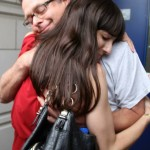 Free Marc August 12th 2014 first hug of freedom