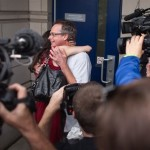 Free Marc Emery first hug in Windsor 12-08-2014