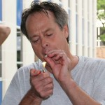 Free Marc Emery first joint in Windsor 12-08-2014