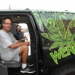 Free Marc Emery first ride of freedom in Windsor 12-08-2014
