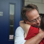 Free Marc Emery greeted by Jodie in Windsor 12-08-2014