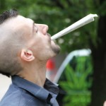 Free Marc Emery mega spliff in Windsor 12-08-2014