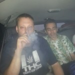 Free Marc Emery smoke session in limo to Windsor 12-08-2014