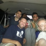 Free Marc tmz crew journey in back of Werk420 limo