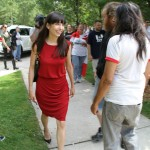 Jodie Emery arrives at Park for Free Marc August 12 2014