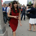 Jodie Emery walks to Tunnel exit in Windsor