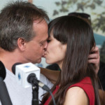 Marc Emery and Jodie passionate kiss in Windsor 12-08-2014