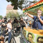 Marc Emery does Vancouver victory square 2014-08-17