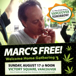 Marc Emery hemp for victory rally promo