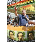 Marc Emery in Cannabis Culture tent 2014-08-17