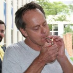 Marc Emery lights first joint since jail