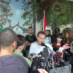 Marc Emery press conference in Windsor