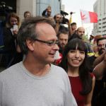 Marc Emery released in Windsor happy couple