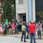 Marc Emery released in Windsor the crowd assembles
