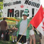 Marc Emery returns supporters rally
