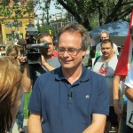 Marc Emery returns to victory square Vancouver