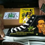 Marc Emery welcome back shoes from where heads meet