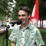 Matt Mernagh at Free Marc Emery in Windsor 12-08-2014