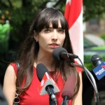 beautiful Jodie Emery political prisoner speech